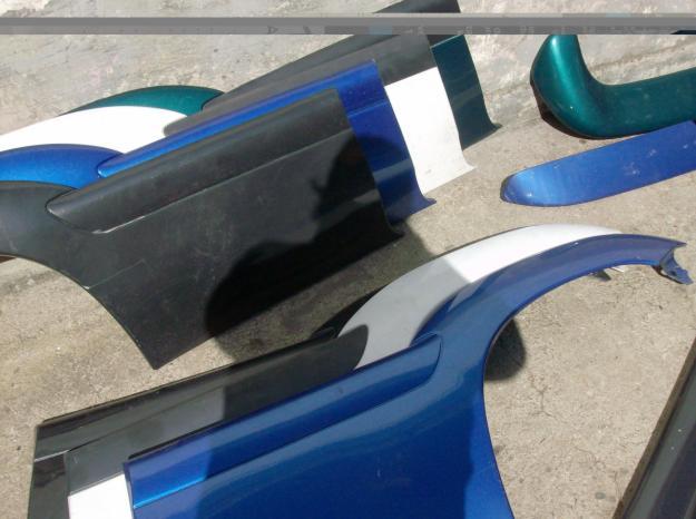 [ Vendo ] Plásticos do kit exterior - Citroen Saxo Cup / Vts 12958111