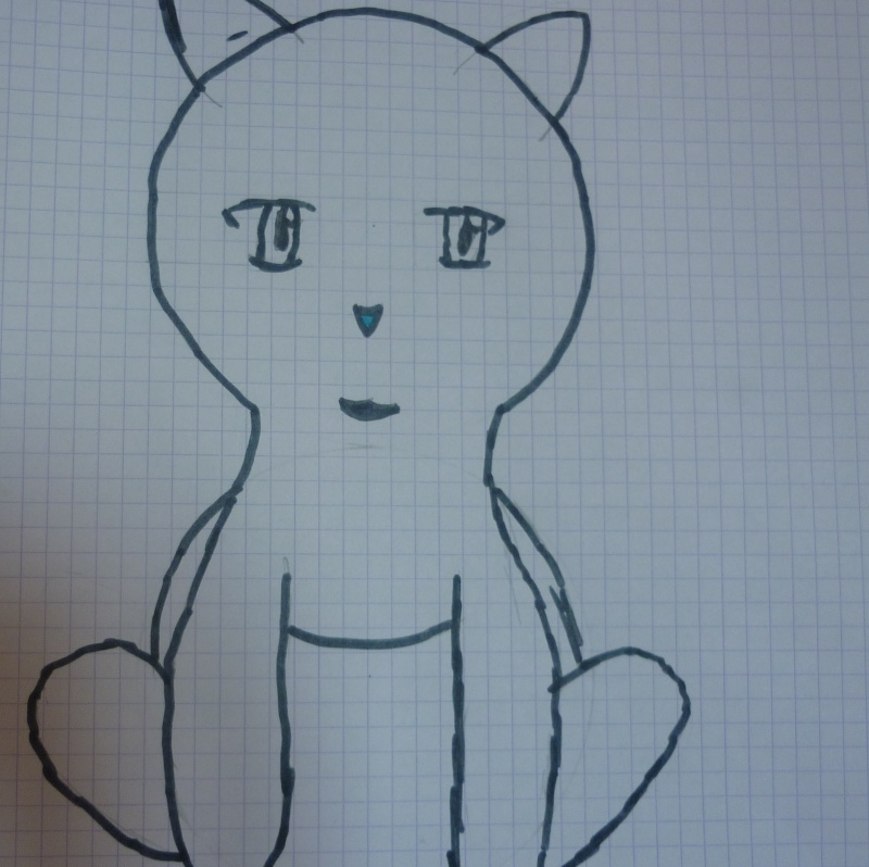 mascotte (pouri)un chat  P1010012