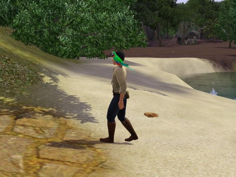 [Challenge sims 3] L'île Perdue Chemin10