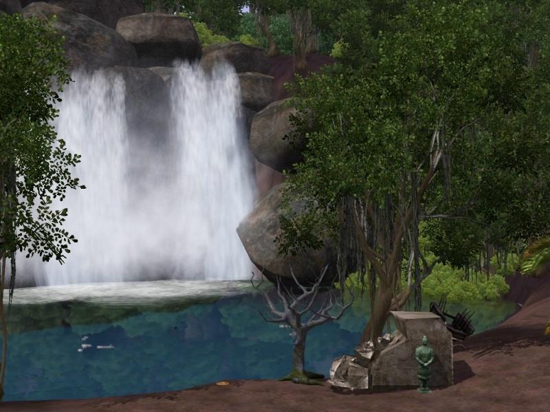 [Challenge sims 3] L'île Perdue Chute-10