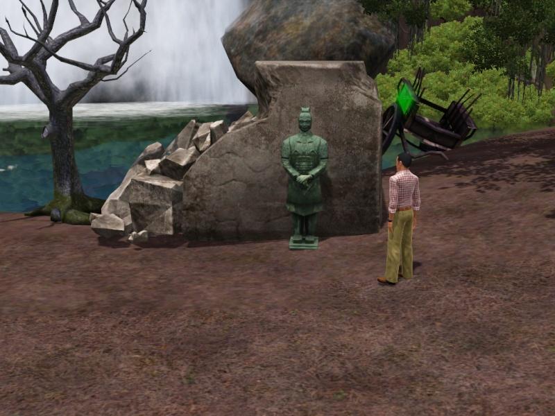 [Challenge sims 3] L'île Perdue Statue10