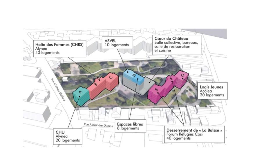 Logement des sans abris : Villeurbanne aurait trouvé une solution temporaire Aot_ch10