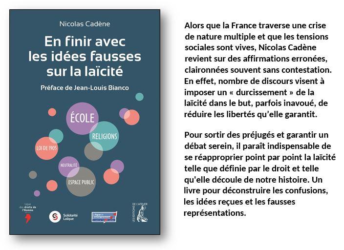 Éditions de l'Atelier  La laïcité, c'est d'abord le droit et la loi Idzoes10