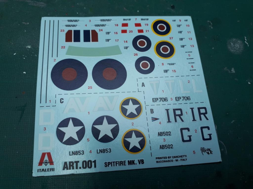 [ITALERI] Spitfire Mk Vb trop 249° Squadron Malte 1942 20210228