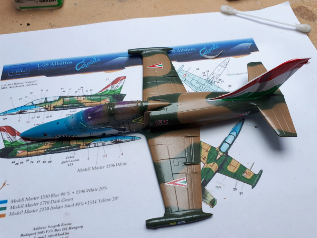 [EDUARD] L-39 ALBATROS Hungarian Sharks 1/72 - Page 2 L-39_h21