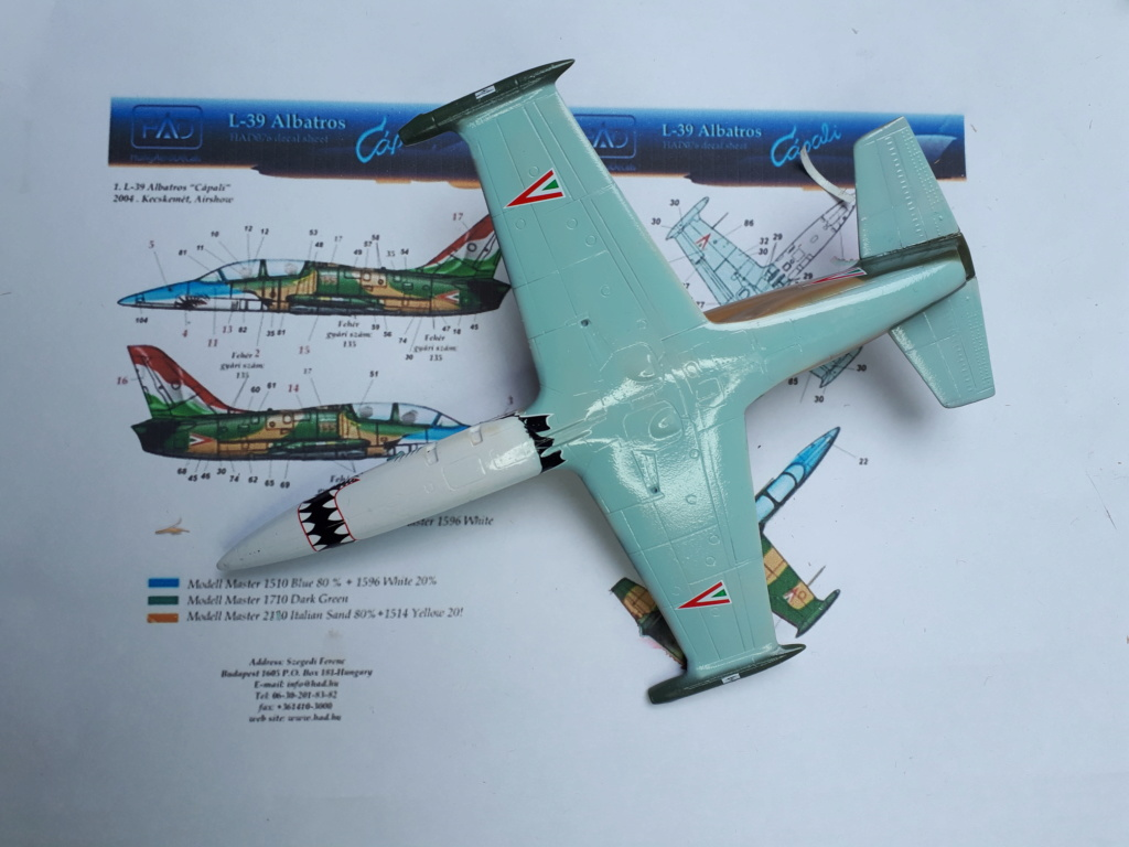 [EDUARD] L-39 ALBATROS Hungarian Sharks 1/72 - Page 2 L-39_h25