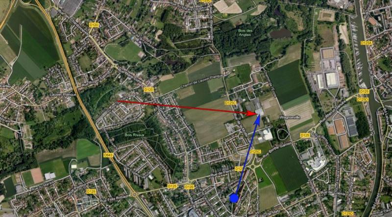 2012: le 01/07 à 23h10 - Lumière étrange dans le ciel  - Douai (59)  - Page 6 Observ10