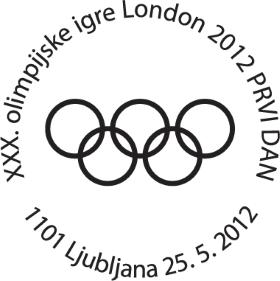 Timbre Slovénie - Jeux Olympiques de Londres 2012 (Judo, voile, natation et basketball) Conten11