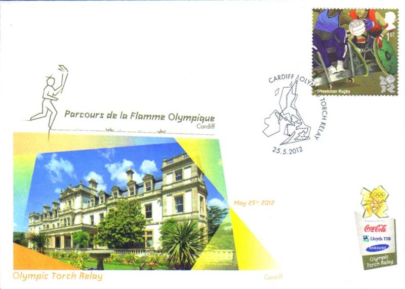Programme des oblitérations pour les JO de Londres 2012 Jo201210