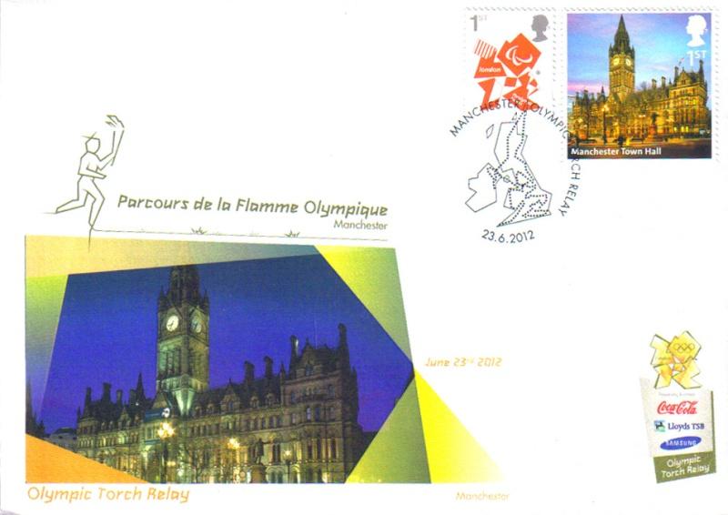 Programme des oblitérations pour les JO de Londres 2012 Jo201212