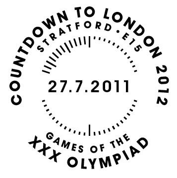 Programme des oblitérations pour les JO de Londres 2012 Olympi12