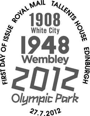 Programme des oblitérations pour les JO de Londres 2012 Olympi13