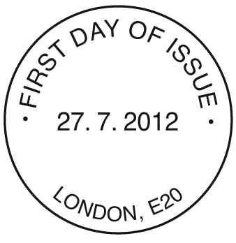 Programme des oblitérations pour les JO de Londres 2012 Olympi16