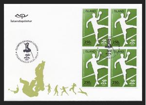 Timbre Islande - Jeux Olympiques de Londres 2012 (Handball) Resour13