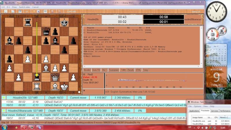 Houdini20c - Houdini2baracuda 1000 games started Slika413