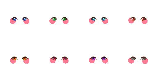Pack pour Générateur de personnage IG Eyes1610