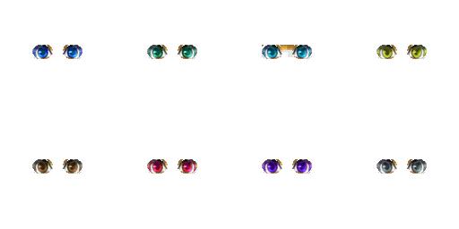 Pack pour Générateur de personnage IG Eyes2510