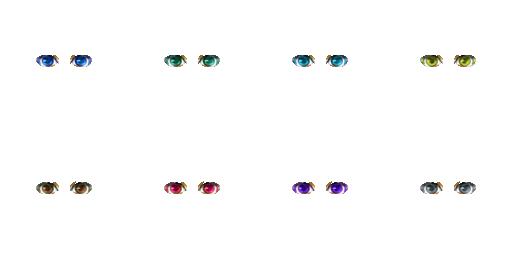 Pack pour Générateur de personnage IG Eyes2610