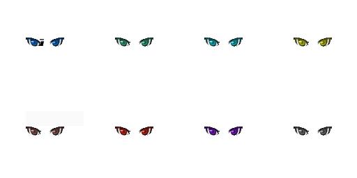 Pack pour Générateur de personnage IG Eyes2810