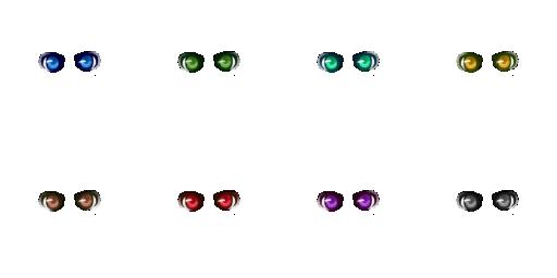Pack pour Générateur de personnage IG Eyes3110