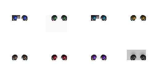Pack pour Générateur de personnage IG Eyes3210