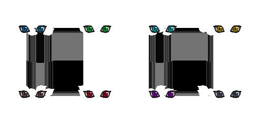 Pack pour Générateur de personnage IG Eyes3711
