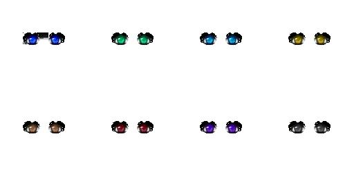 Pack pour Générateur de personnage IG Eyes4410