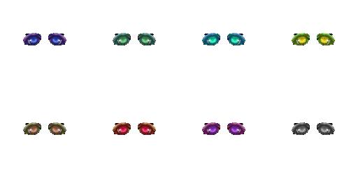 Pack pour Générateur de personnage IG Eyes4810