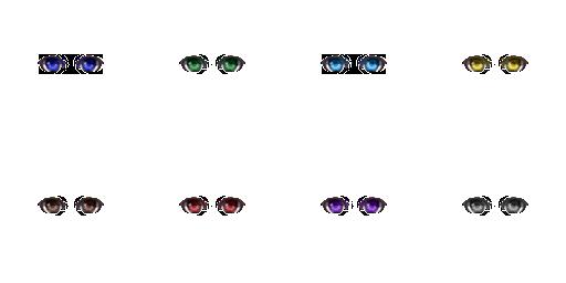 Pack pour Générateur de personnage IG Eyes4910