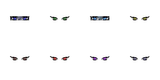 Pack pour Générateur de personnage IG Eyes5010