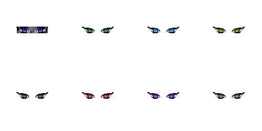 Pack pour Générateur de personnage IG Eyes5110