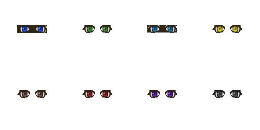 Pack pour Générateur de personnage IG Eyes5410