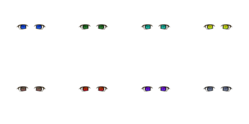 Pack pour Générateur de personnage IG Eyes5510