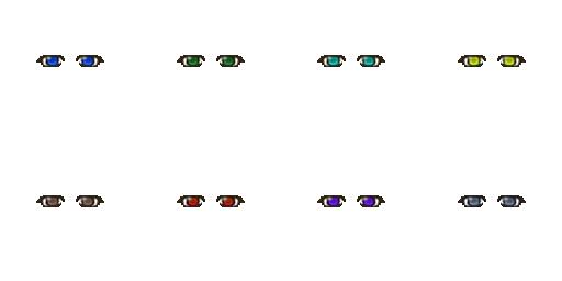 Pack pour Générateur de personnage IG Eyes5610