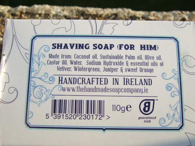 "Savon ""The Handmade Soap Co."" Verso10"
