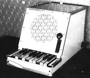 1931 Le Rhythmicon Rhythm10