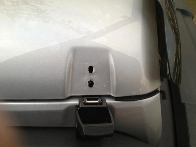 Ganci cofano Rampage con serratura Imm116
