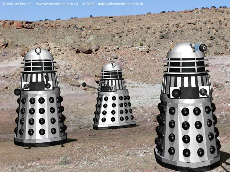 Death to the Daleks (Third, 1974) Death-10