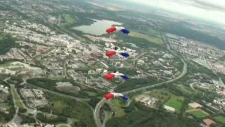 Dernier entrainement des parachutistes en vidéo avant la DZ75 2012_015