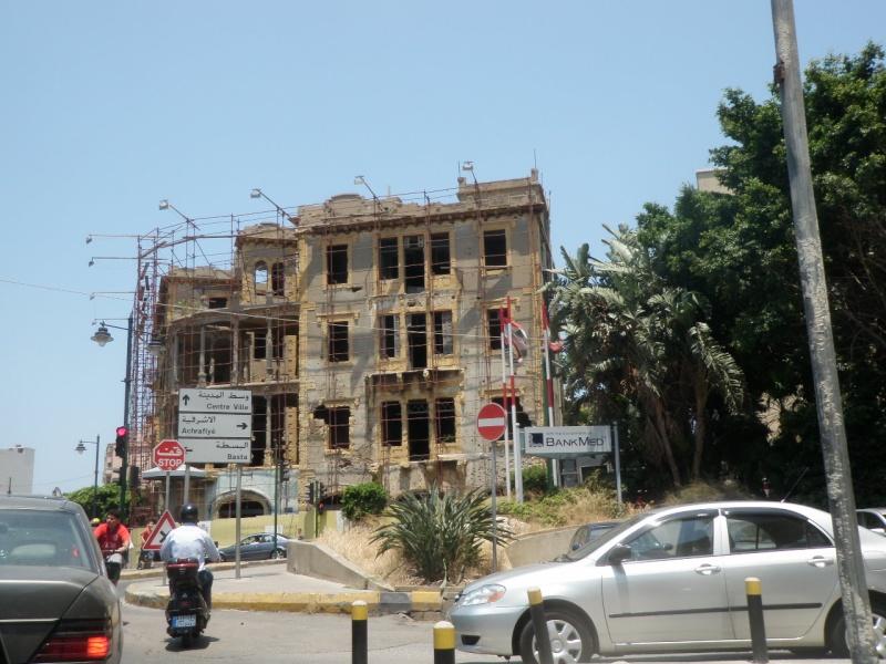 Beyrouth Le DRAKKAR PC du 1er RCP - 23 octobre 1983 dramatique souvenir...58 parachutistes des 1er et 9ème RCP sont tués sous les décombres de l'immeuble. P7091920