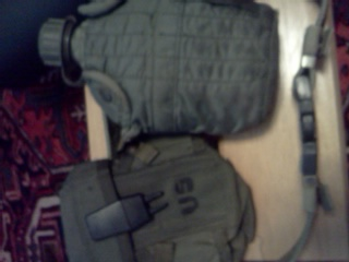 Canteen, Ammo Pouch, And Pistol Belt from Black Hawk Down Img_2068