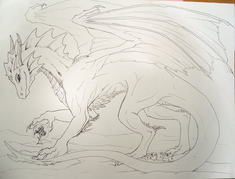 Et encore un dragon ! xD Dragon11