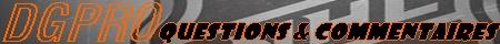 créer un forum : DGPRO Questi10
