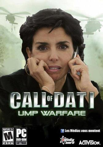 Images humoristiques ayant lien avec le jeu vidéo Call-o10