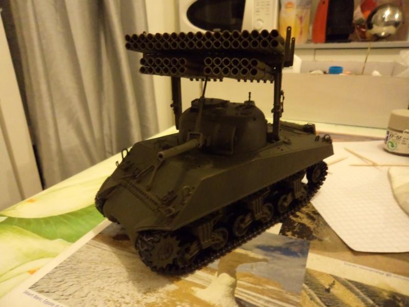 1/35 Revell M4A3 SHERMAN CALLIOPE -TERMINE- Dsc00711