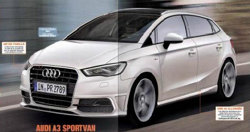 2023 - [Audi] A3 Vario A3sv10