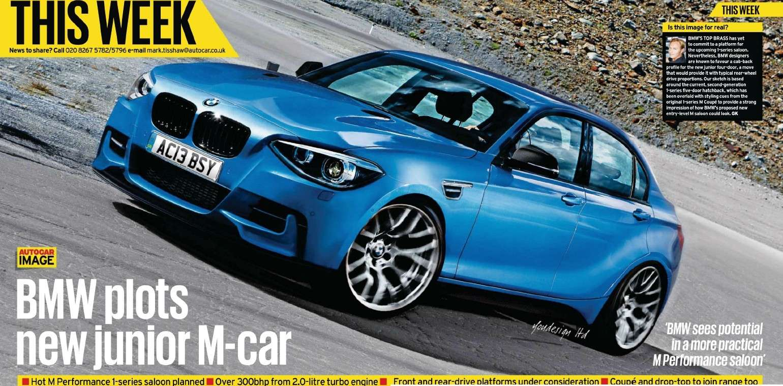 2016 - [BMW] Série 1 Sedan [F52] Bm10