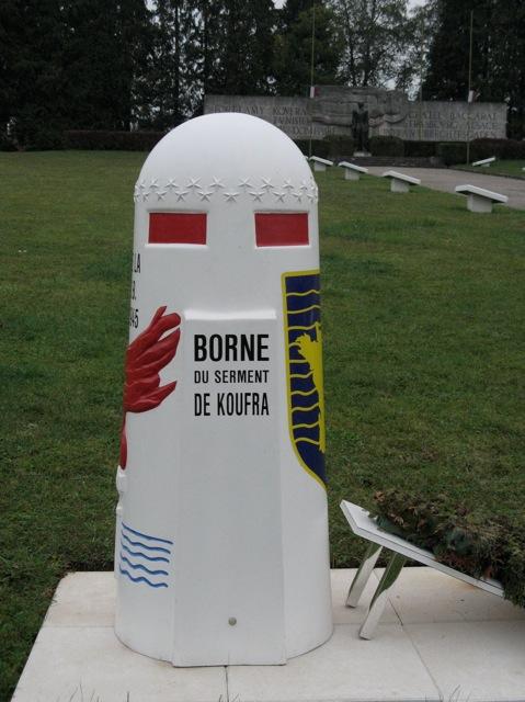 VOIE DE LA 2ème DB & BORNES DU SERMENT DE KOUFRA (INDEX) Dompai14