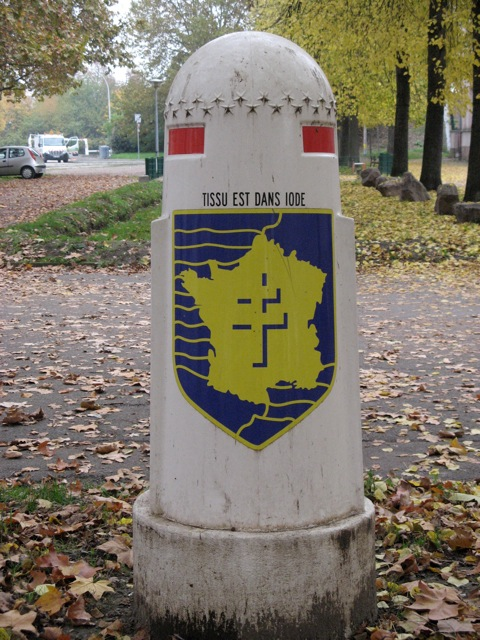 Borne du serment de Koufra: STRASBOURG Strasb12