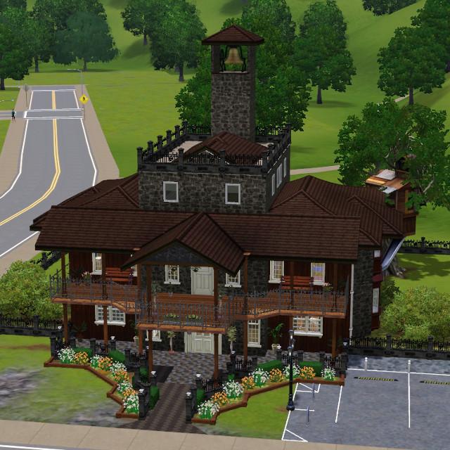 Buildings for Little valley world... ON HOLD! Ossh0110